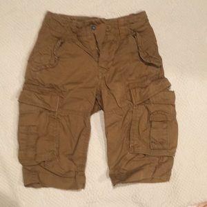 Gap kids boys cargo shorts size6.
